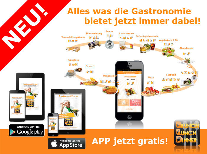 Brunch Lunch Dinner iPhone iPad Android App